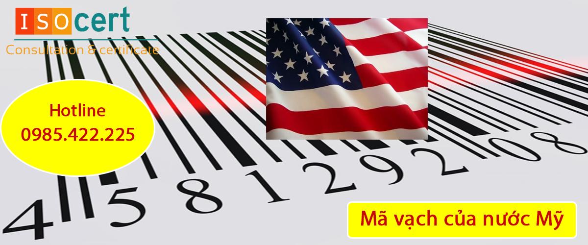 Mã vạch của nước Mỹ