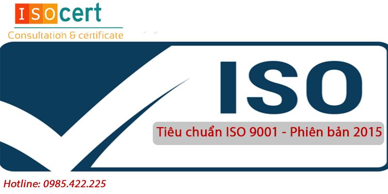 Tiêu chuẩn ISO 9001 - Phiên bản 2015