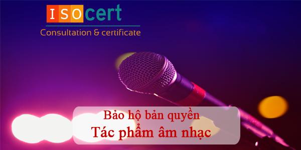 Bảo hộ bản quyền tác phẩm âm nhạc