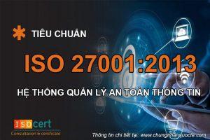 Tổ chức chứng nhận ISO 27001