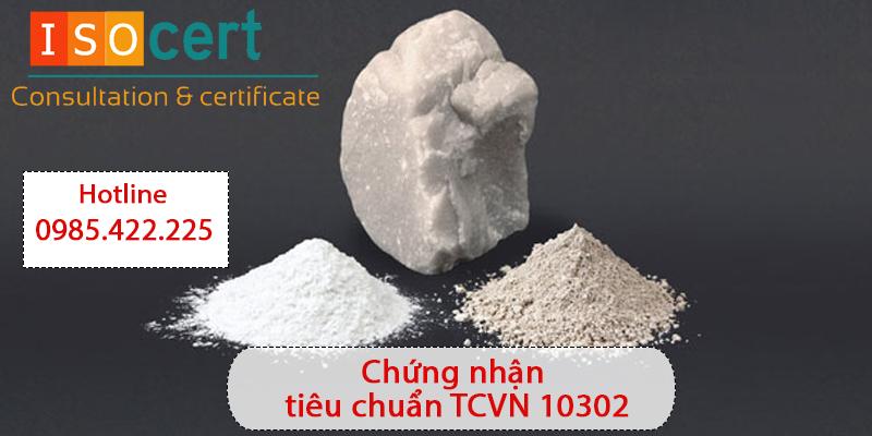 Chứng nhận tiêu chuẩn TCVN 10302