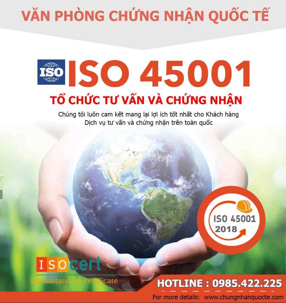Tư vấn cấp chứng chỉ OHSAS 18001 ISO 45001