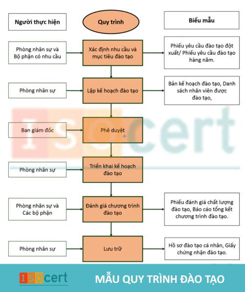 Quy trình tuyển dụng và đào tạo