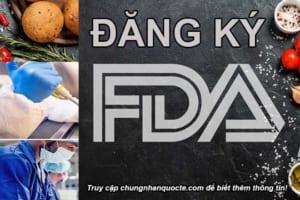 ĐĂNG KÝ FDA