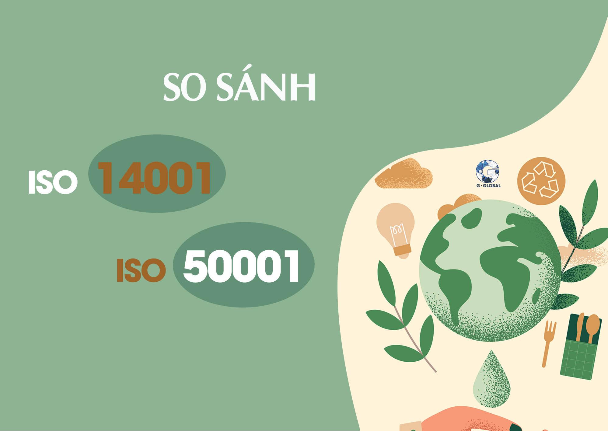 ISO 14001 và ISO 50001